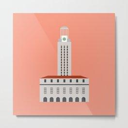 UT Clock Tower - Austin, Texas Metal Print