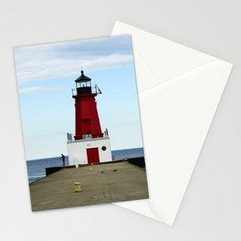 Lighthouse Fishing Stationery Cards