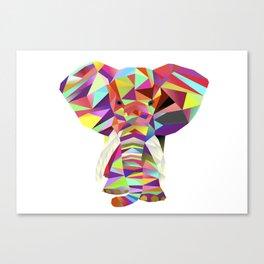 Emil Elephant Canvas Print