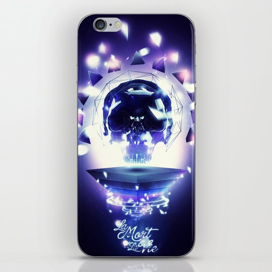 La Mort et la Vie iPhone & iPod Skin