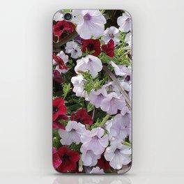 Cascade Of Petunias iPhone Skin