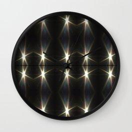 Eclipse photo mod pattern3 Wall Clock