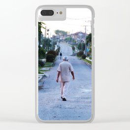 Authentic Cuba Clear iPhone Case