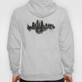 Cincinnati Skyline Black and White Hoody