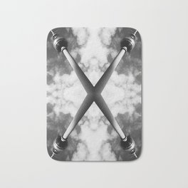 Berlin Television Tower X Picture Bath Mat