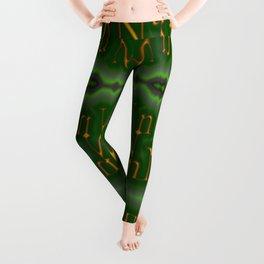 Nn - pattern 1 Leggings