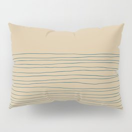 Hand Striped and Sea Pillow Sham