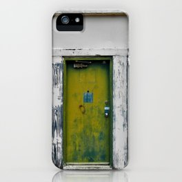 Green Mile iPhone Case