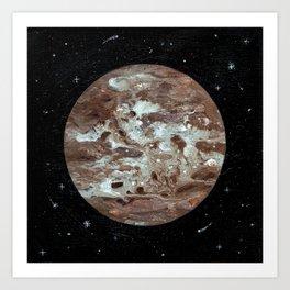 Pluton Art Print