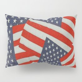 Patriotic Americana Flag Pattern Art #2 Pillow Sham