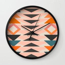 Urban Tribal Pattern 3  #society6 #decor #buyart #artprint Wall Clock