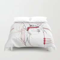 tribal Duvet Covers featuring TRIBAL by ARCHIGRAF