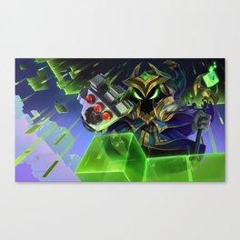 Final Boss Veigar League Of Legends Canvas Print