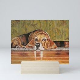 Basset Hound: Tate Mini Art Print