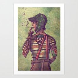 CHAVO COLOR Art Print