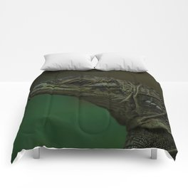 Philippine Sailfin Lizard Comforters
