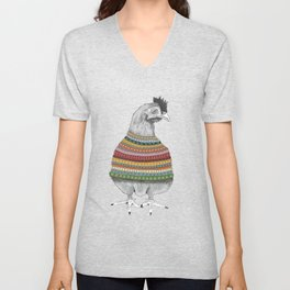 Chicken Fashion Unisex V-Neck