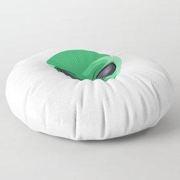 Send Nudes UFO Extraterrestrial Space Floor Pillow