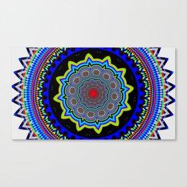 Zoom Mandala Canvas Print