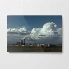 obstructed view Metal Print