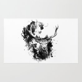 Once upon a Stag Rug