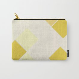 Yellow Diamonds Carry-All Pouch