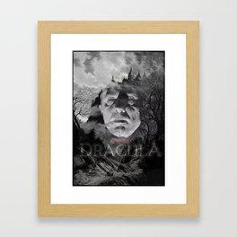 Bela Lugosi Dracula Framed Art Print