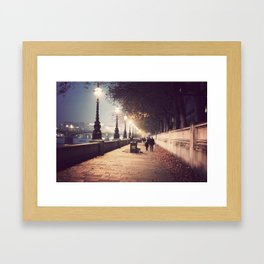 London Stroll  Framed Art Print