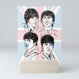 Face The Fab Four 2 Mini Art Print