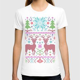 deer ugly christmas T-shirt