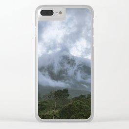The imperious Arenal Volcano Clear iPhone Case
