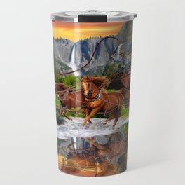 Wells Fargo Stagecoach Travel Mug