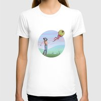 golf T-shirts featuring Zombie golf by Valentin Cottereau