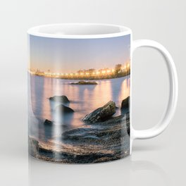 A break from routine. Tranquil spot in 'Montevideo, Uruguay' Coffee Mug