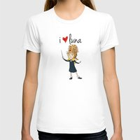 luna lovegood T-shirts featuring I Love Luna by Artpunk101