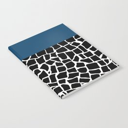 British Mosaic Navy Boarder Notebook