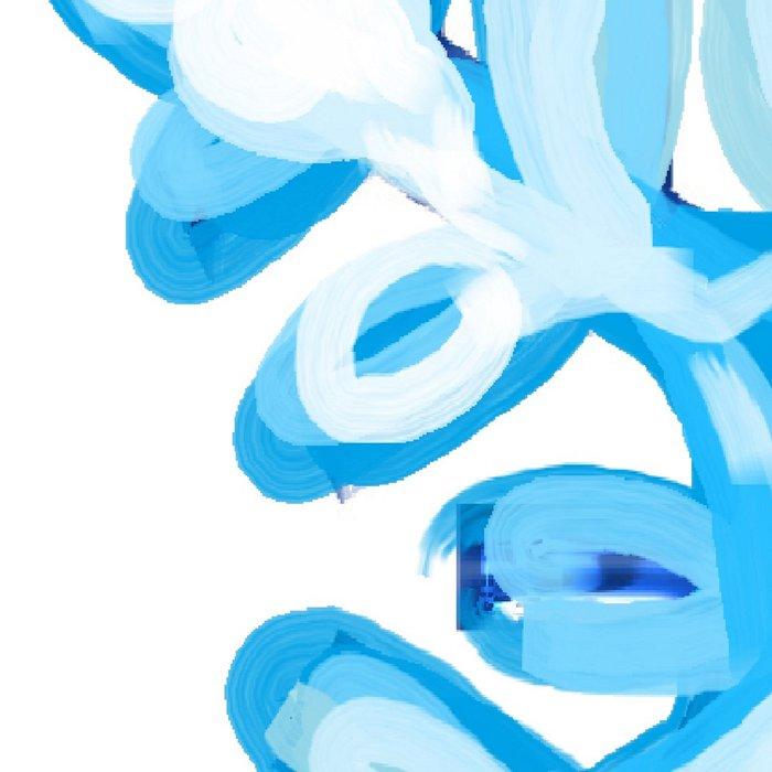 Let It Snow Snowflake Painting Leggings