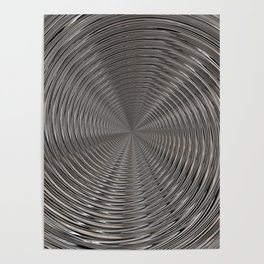 Chrome Tunnel Poster