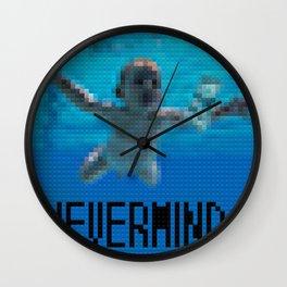 Nevermind - Legobricks Wall Clock