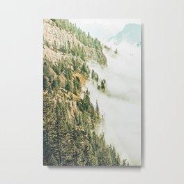 Hills & Fog #photography #nature Metal Print