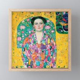 """Gustav Klimt """"Eugenia Primavesi"""" Framed Mini Art Print"""