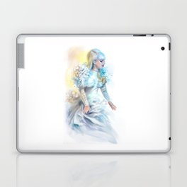 Mother Monster in  white Laptop & iPad Skin