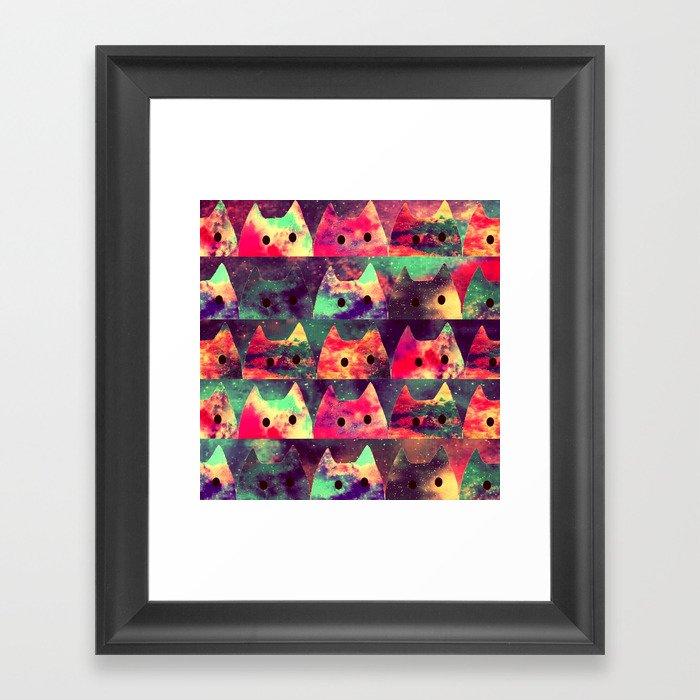 cats-131 Framed Art Print