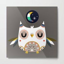 Magic Owl Metal Print