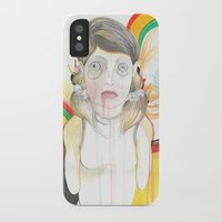 zombie iPhone & iPod Cases featuring Zombie by Raül Vázquez