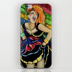 True Colors- Cyndi Lauper  iPhone & iPod Skin