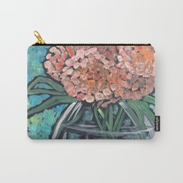 Orange Bloosoms Carry-All Pouch