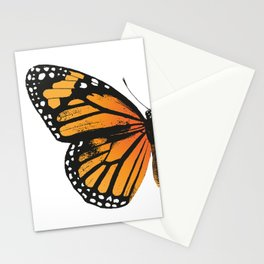 Monarch Butterfly | Left Butterfly Wing | Vintage Butterflies | Stationery Cards