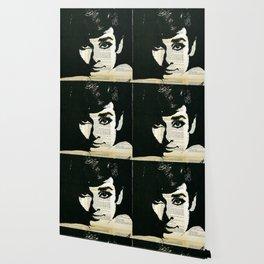 Audey Hepburn portrait Wallpaper