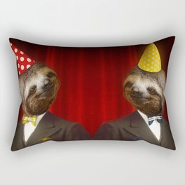 The Legendary Sloth Brothers Rectangular Pillow